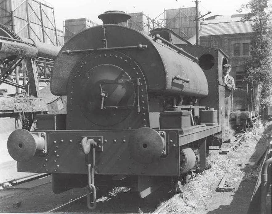 2105 at Croydon 'A' on 16th June 1951