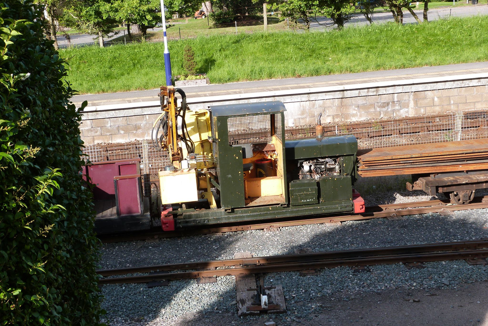 No. 277273 as a Flail Mower in August 2012