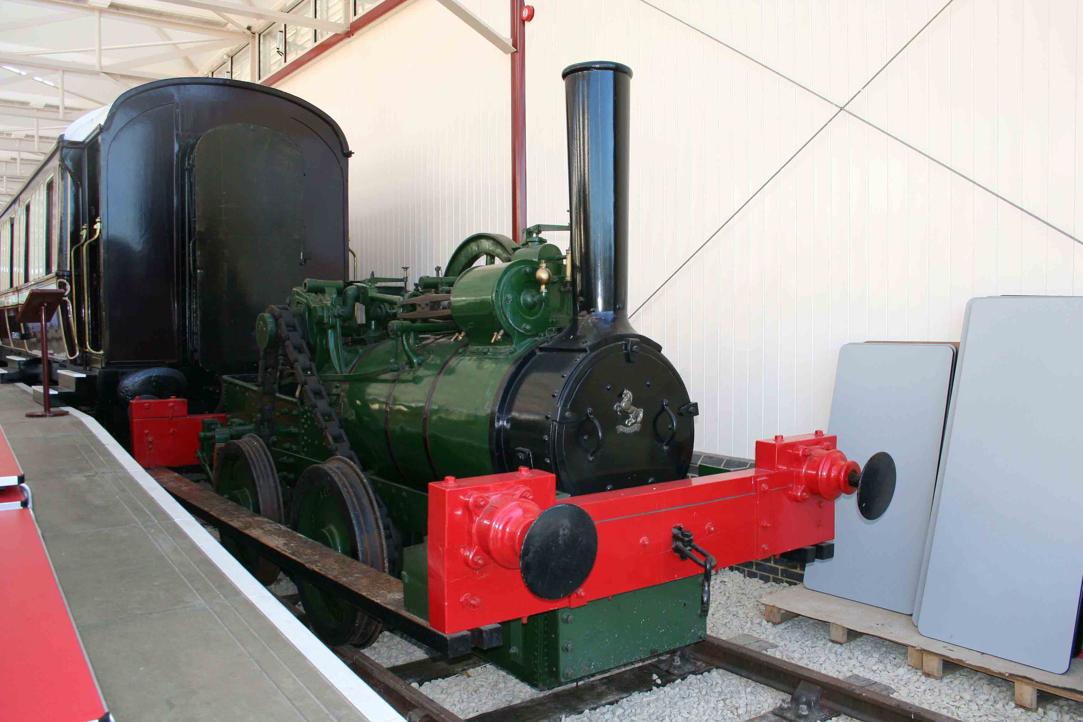 Aveling and Porter 0-4-0T No. 807