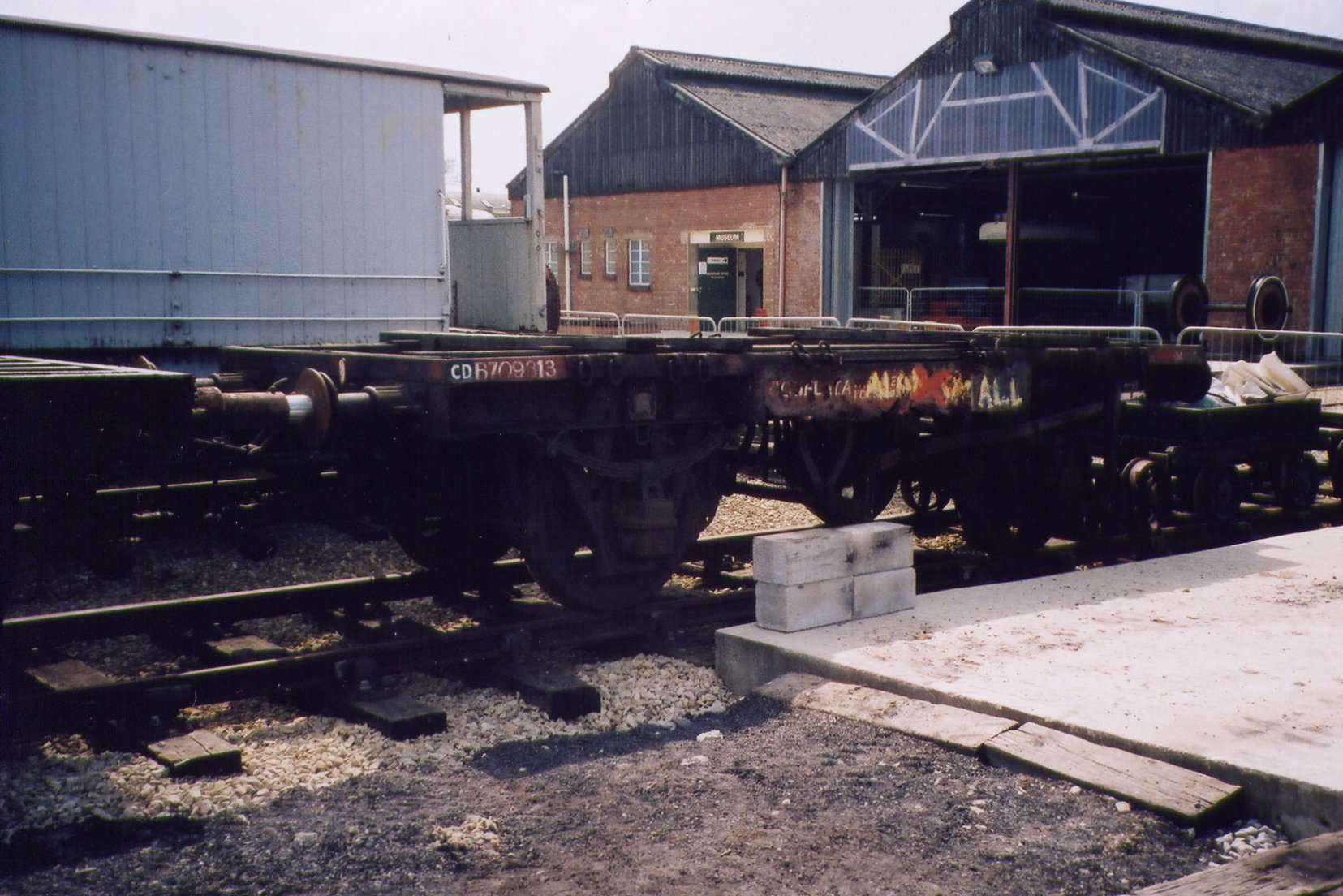 Conflat B709313 in Down Yard