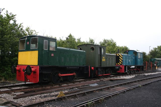 BRC Shunters Photographer - Andrew Bratton