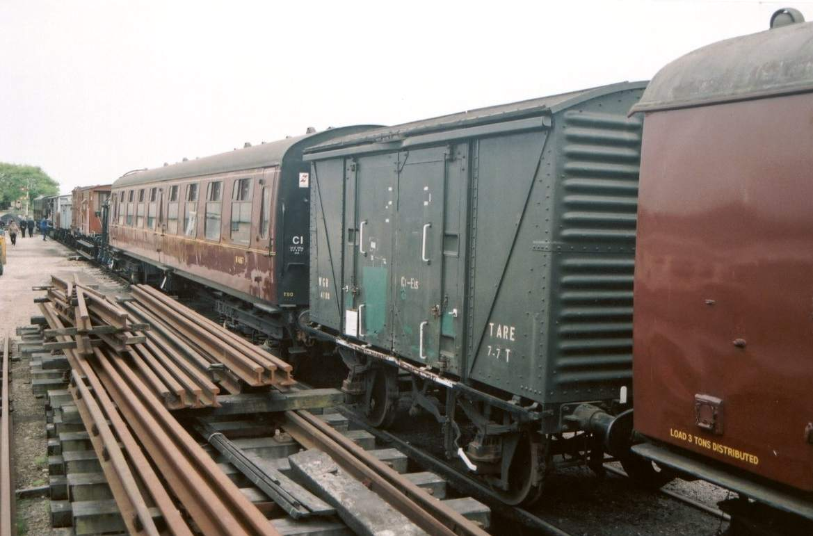 In Up Yard stabled between two Mark 1s