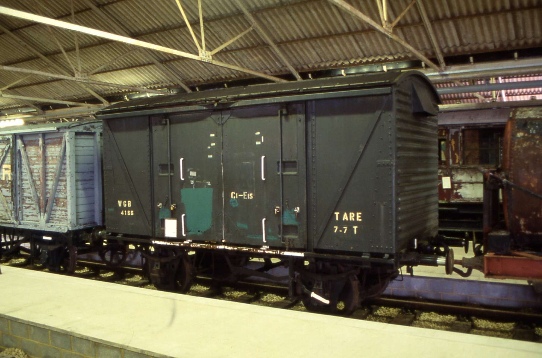 In buffer depot liveried as Army WGB4188