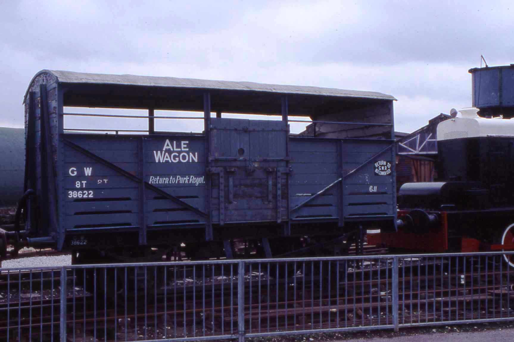 In temporary livery as an Ale Wagon