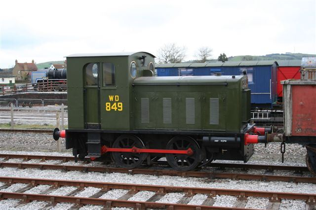 Hunslet 0-4-0DM No. 2067
