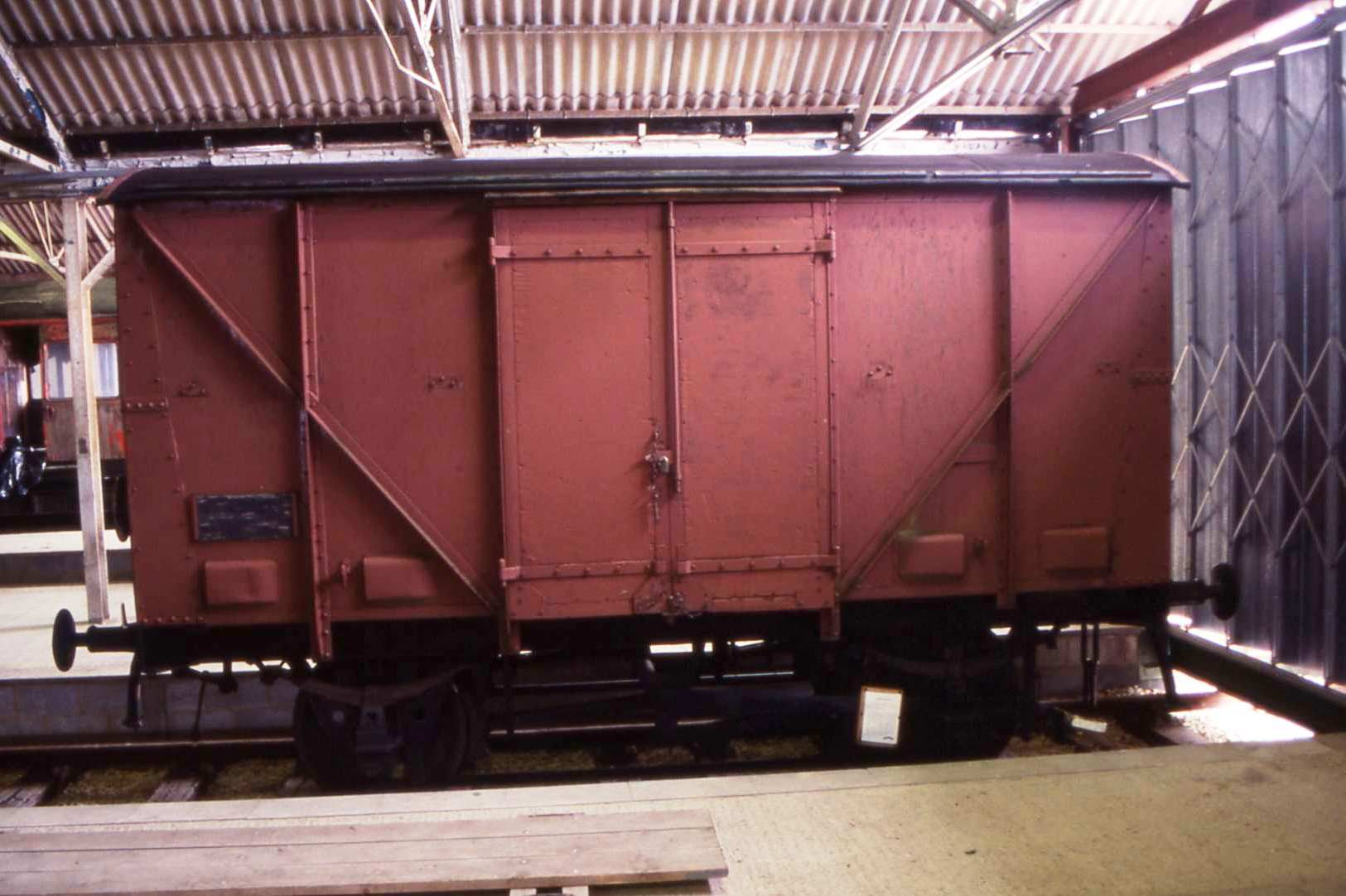 Fruit van in Buffer Depot - March 2002