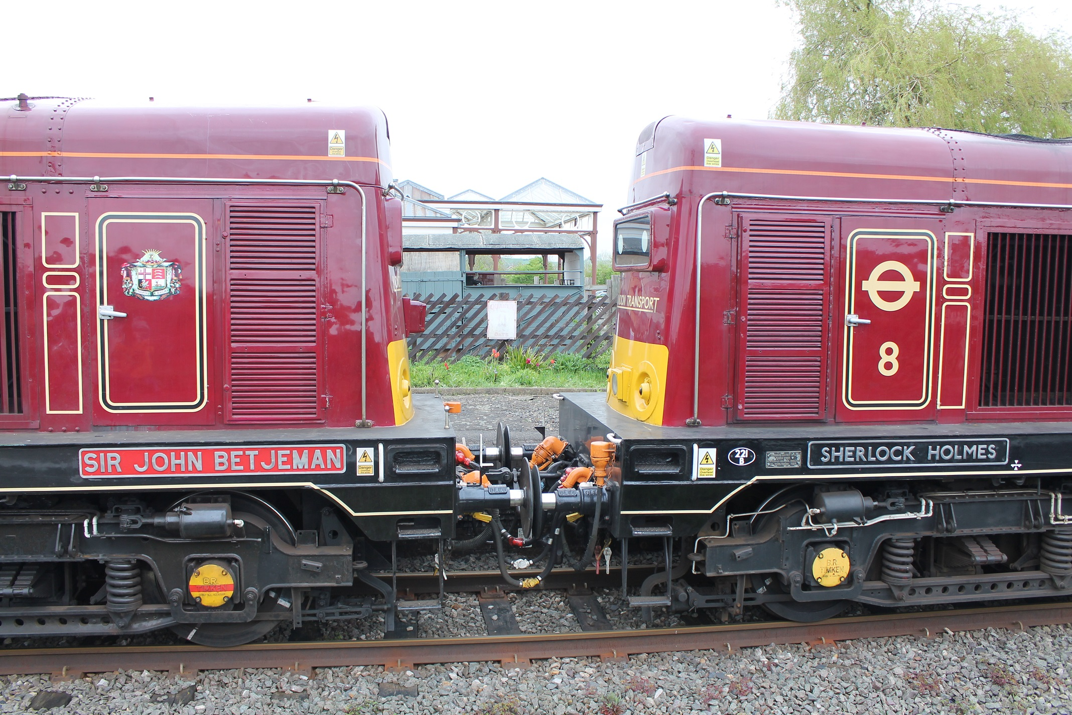 Class 20 No 20142 Sir John Benjamin at Quainton Road