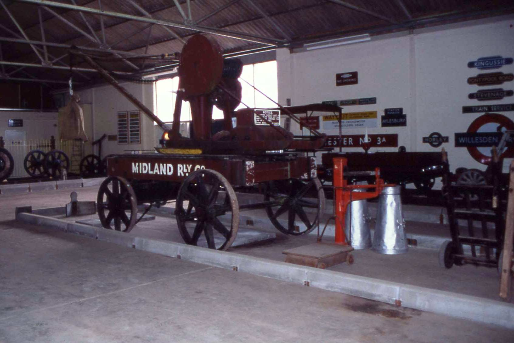 Midland Road Crane in Buffer Depot Museum