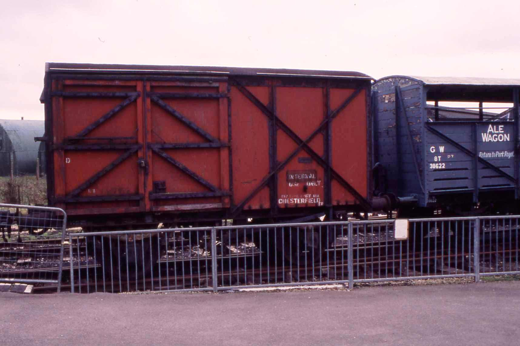 DB778992 in Down Yard at Quainton