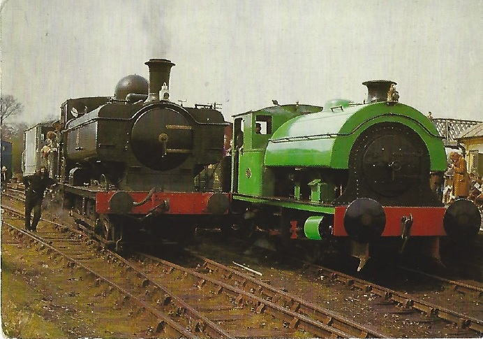 QP2 - GWR No. 7715 and <I>Swanscombe</I>
