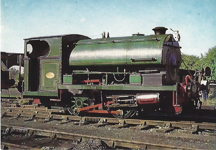 QP6 - Peckett No. 2104
