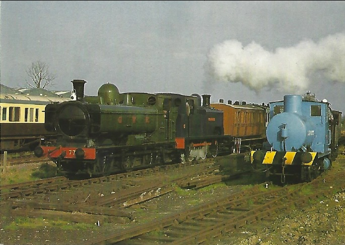 QP8 - GWR No. 7715, <i>Coventry</i> No. 1 and Barclay fireless No. 2243