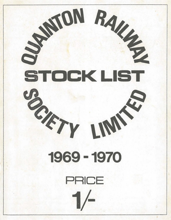 Stocklist - 1969 - 2nd Edition