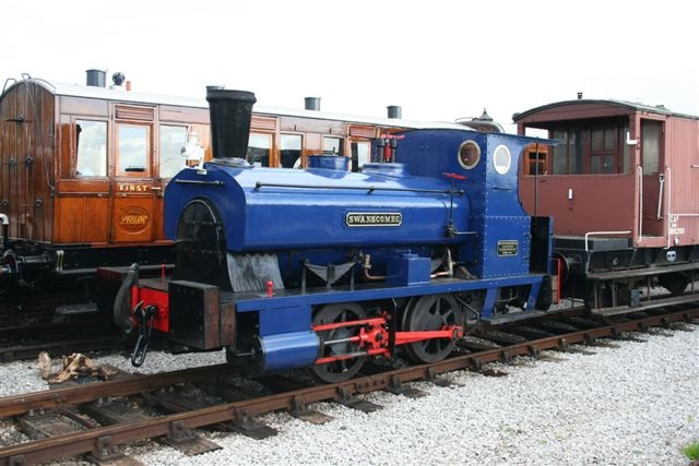 Swanscombe in October 2006 in the Down Yard