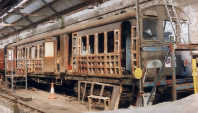 Met No. 259 under restoration at the Spa Valley Railway 1st June 1998
