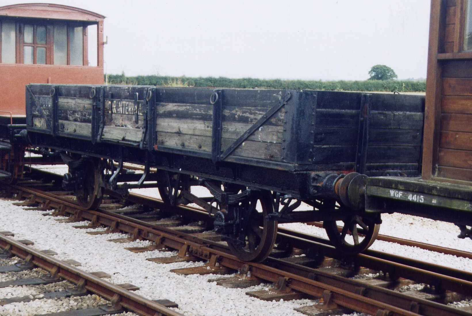 Tube Wagon stabled in Down Yard