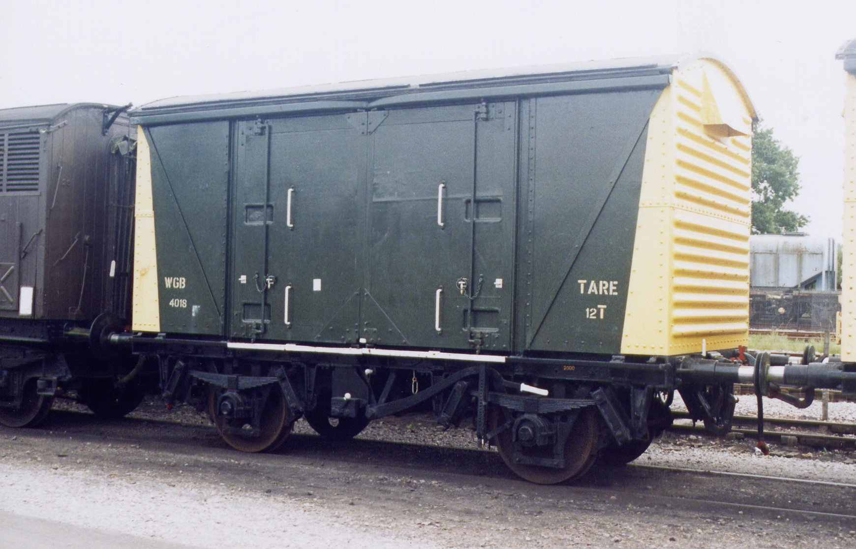 Box Van WGB4018 shortly after delivery